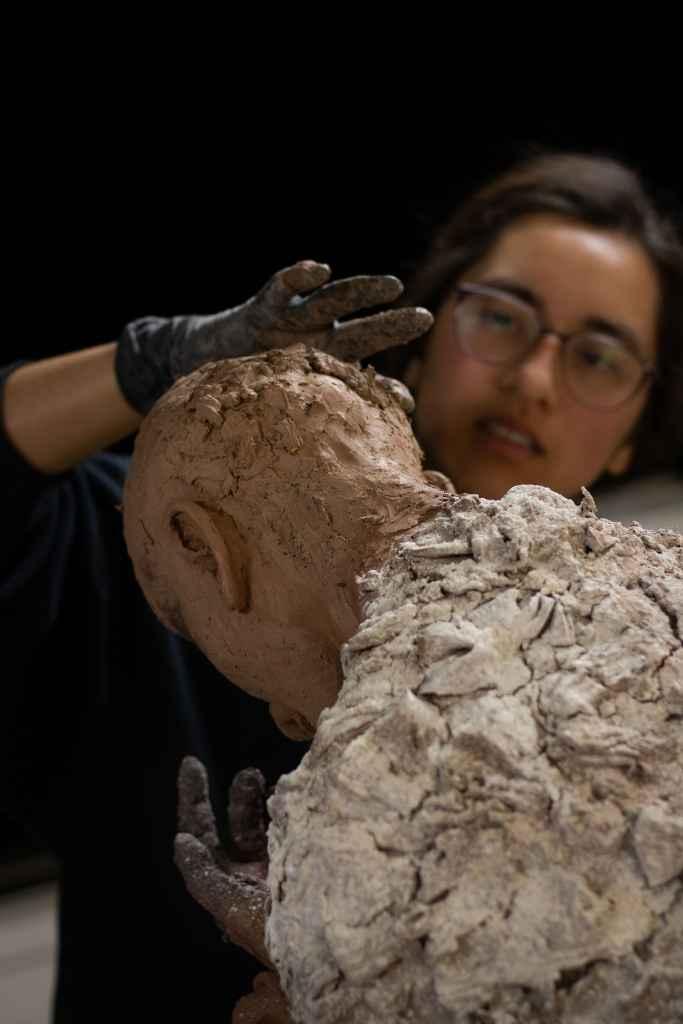 Vann Ramirez sculpting