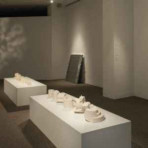 Hae Won Sohn installation at the Walters Art Museum