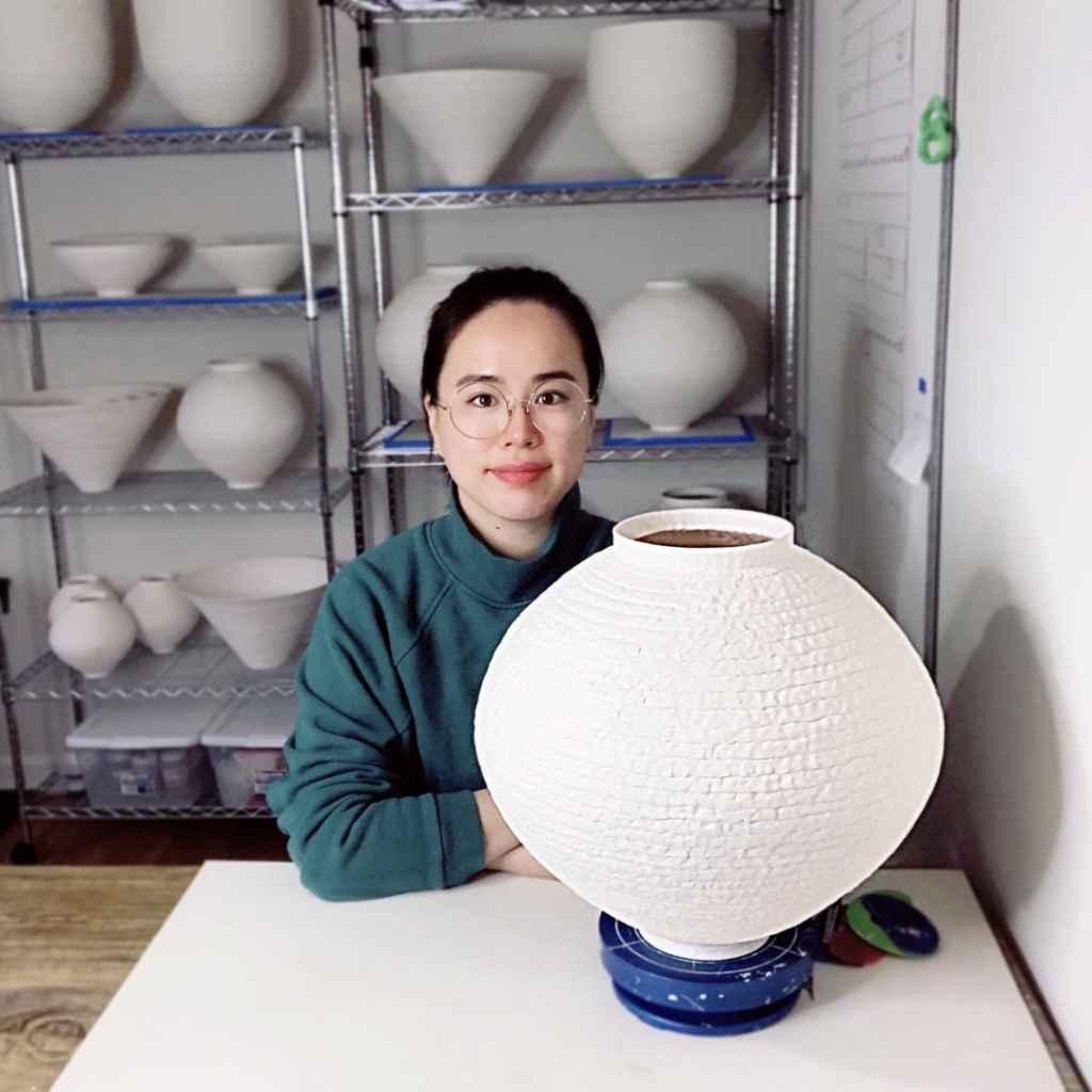 Seong Weon Lee in studio